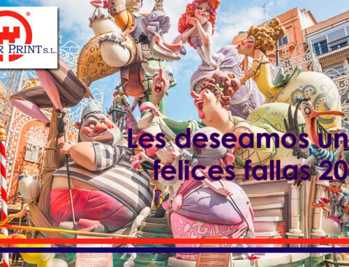 Towerprint con las Fallas 2018